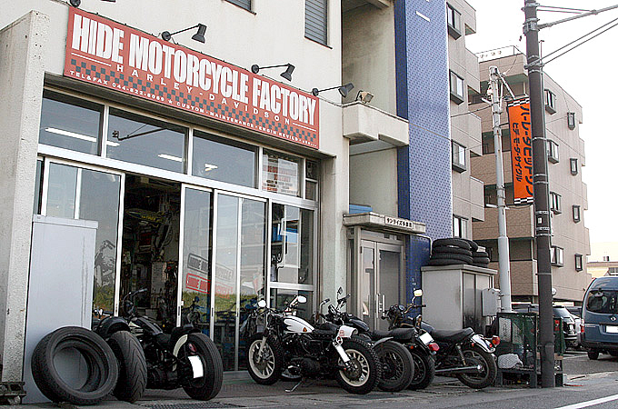 HIDE MOTORCYCLEの画像