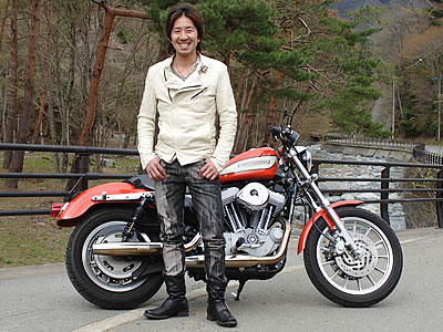 バイクファッションの画像