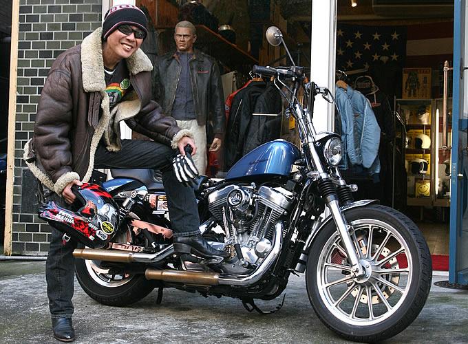 57adbb8280dc96 【BEFORE】今回のファッション・チャレンジャー. バイクファッションの画像