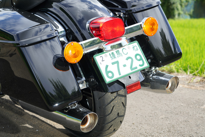 ハーレー2021年モデルの「FLHR ロードキング」を試乗インプレ!リッチなスタイルと乗り味はツアラーの指標の17画像