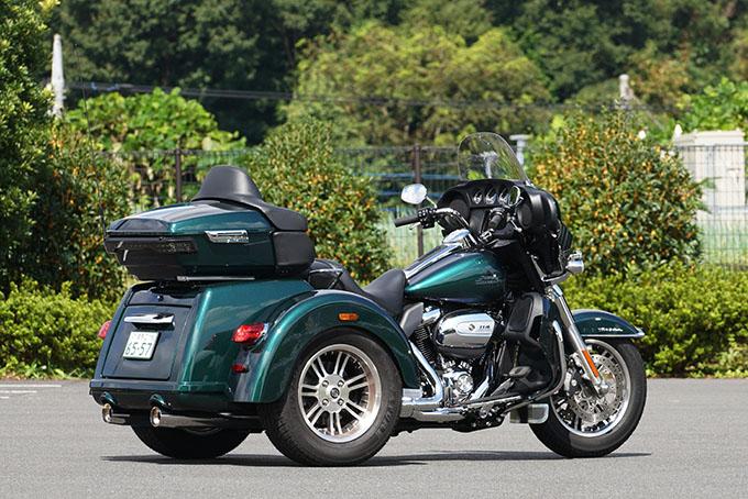 ハーレー2021年モデルの「トライグライド ウルトラ」を試乗インプレ!人生で一度は手にしてみたい別格の存在感の02画像