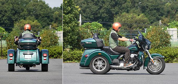 ハーレー2021年モデルの「トライグライド ウルトラ」を試乗インプレ!人生で一度は手にしてみたい別格の存在感の08画像