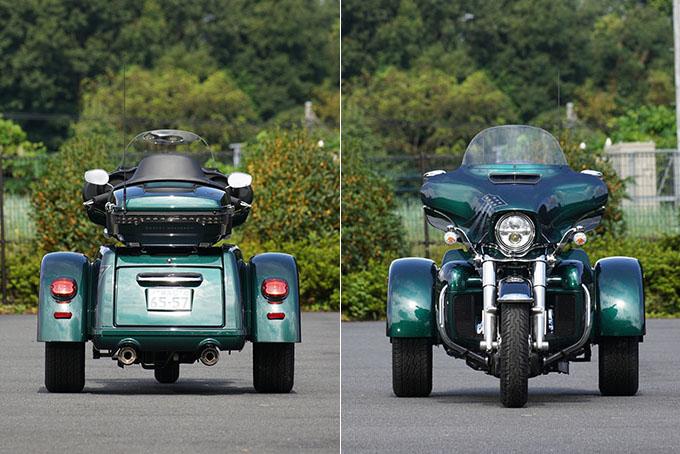 ハーレー2021年モデルの「トライグライド ウルトラ」を試乗インプレ!人生で一度は手にしてみたい別格の存在感の09画像