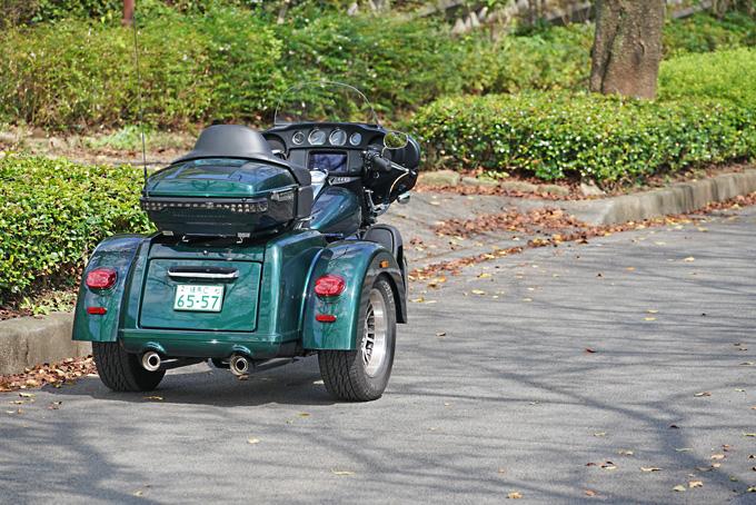 ハーレー2021年モデルの「トライグライド ウルトラ」を試乗インプレ!人生で一度は手にしてみたい別格の存在感の10画像
