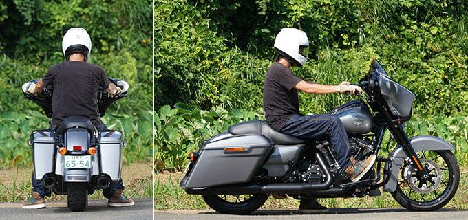 ハーレー2021年モデルの「FLHXS ストリートグライドスペシャル」を試乗インプレ!強烈なインスピレーションを得られる希有なノリモノの09画像