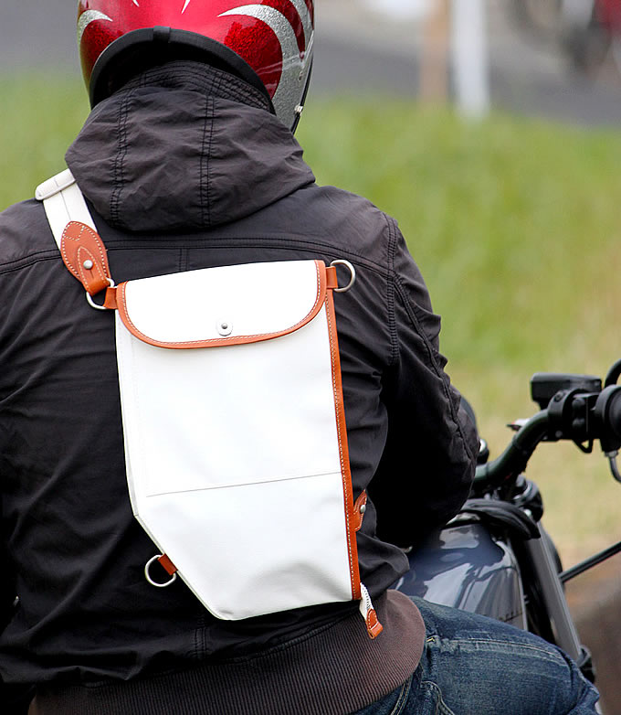 横濱帆布鞄 M13A4T B.B.B. Bikers Body Bagの画像
