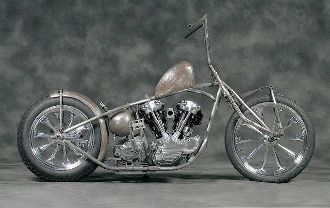 1937 KNUCKLE HEAD / GRASS ROOTS CYCLESのカスタムショー車両の画像