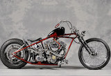 1974 FXE / JAPAN DRAG CUSTOM CYCLESの画像