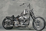 1981 SHOVEL HEAD / RUNS MOTORCYCLESの画像