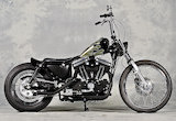 2003 XL883R / RUDE ROD CUSTOM CYCLEの画像