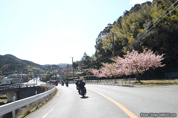 HIDE MOTORCYCLEツーリングの画像