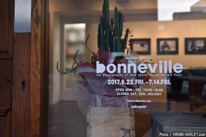 「TAKA.MASUI bonneville EXHIBITION」7月14日(金)まで開催!