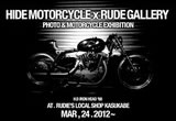 HIDE MOTORCYCLE × RUDE GALLERYの画像
