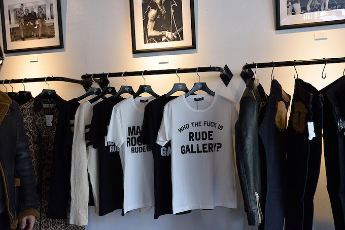 RUDE GALLERY 2015 S/Sコレクション「WHO THE FUCK IS RUDE GALLERY ?」のアイテム。