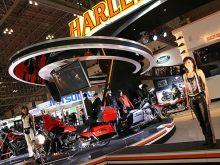 東京モーターショー ハーレーダビッドソン・ブース情報の画像