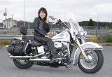 前田姉妹お姉ちゃん 2009年式 FLSTCの画像
