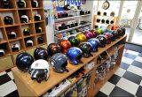 ジェットヘルメットだけを取り扱うプロショップでコーディネートを楽しもうの画像