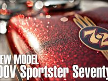 2012 NEW MODEL XL1200V Sportster Seventy-Twoの画像