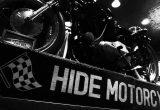 HIDE MOTORCYCLE×RUDE GALLERY PHOTO & MOTORCYCLE EXHIBITIONの画像