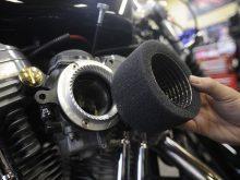 ハーレー用エアクリーナー タイフーンの実力を検証!の画像
