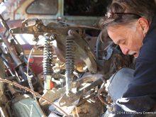 全米中のバーン(納屋)の中に眠るバーンファインドお宝バイクの画像