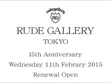 RUDE GALLERY 15th ANVの画像
