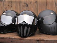 TT&CO.が提案するワイルドなマスク付きジェットヘルメットの画像