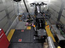 最新のダイノマシンでハーレーのインジェクションチューニングを手掛けるHSCの画像