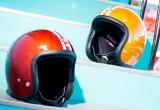 アメリカンバイカーの心をくすぐる注目のヘルメットの画像