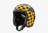 グリーサー スモールヘルメット「CHECKER」ブラックの画像
