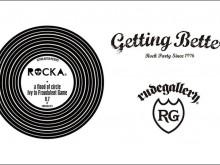 afoc×lvyの初対バンイベント「ROCKA」を記念したルードギャラリーの会場限定販売イベントTEEの画像