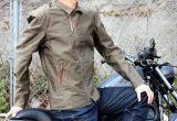 KUSHITANI コットンライダースジャケットの画像
