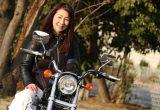 オーセンティックなリジッドスポーツスターに乗る女性ハーレー乗り、hiroさんのインタビュー(2002年式XLH883)の画像