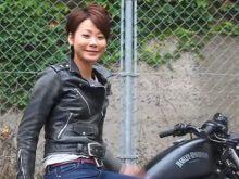 ハーレー女子 花子のファッションチェックの画像