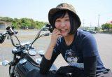 ツインカムのストリートボブに乗る女性ライダー、梨恵さんのインタビュー(2016年式FXDB)の画像