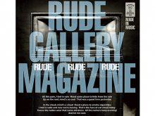 ROCKに特化したファッションブランドRUDE GALLERYの20周年アニバーサリーブックの画像