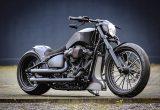 ハーレーの人気モデル、FXBRS・ブレイクアウトをモダンなマッスルバイクにカスタムの画像