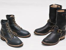 ラフアウト面を使用した高機能レザー「Waxed Flesh Leather」が採用された限定2モデルの画像